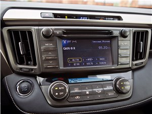 Toyota RAV4 2013 центральная консоль