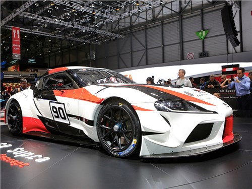Новость про Toyota - GR Supra Racing Concept