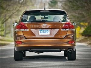 Toyota Venza 2013 вид сзади