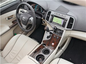 Toyota Venza 2013 водительское место