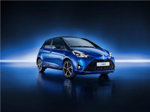 Новость про Toyota Yaris - Toyota рассекретила обновленный хэтчбек Yaris
