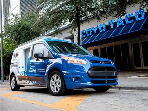 Новость про Ford Transit Connect - Ford начал тестировать беспилотники для доставки товаров