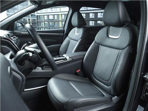 Hyundai Tucson (2021) передние кресла