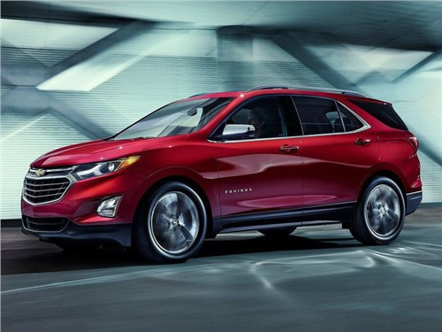 Chevrolet показал новое поколение кроссовера Equinox