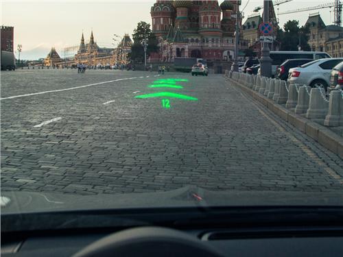 Компания WayRay показала «голографическую» навигационную систему
