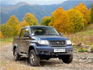 УАЗ Pickup - uaz pickup 2013 вид спереди