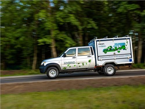 УАЗ сделал гибридный вариант грузовика Профи