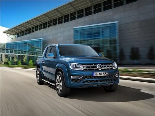 Volkswagen назвал стоимость обновленного Amarok для российского рынка