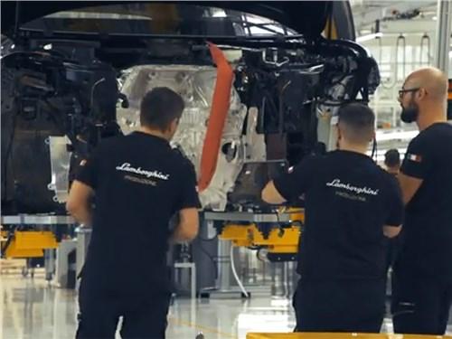 Lamborghini начала сборку кроссоверов Urus