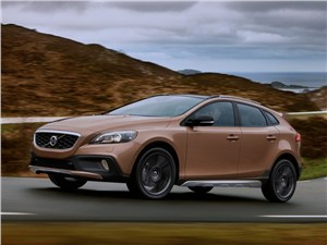Водный мир V40 Cross Country - Volvo V40 Cross Country 2013 вид сбоку