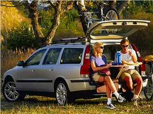Предпросмотр volvo v70 2001 предлагал множество опций для путешественников