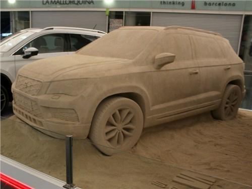 Seat создал кроссовер Ateca из песка