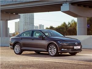 Volkswagen Passat 2015 вид спереди