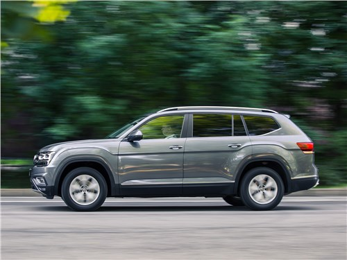 Новость про Volkswagen - Volkswagen Teramont 2018 вид сбоку