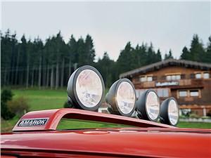 Volkswagen Amarok Canyon 2010 дополнительные прожектора