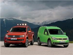 Volkswagen Amarok, Volkswagen Caddy - volkswagen amarok canyon и cross caddy 2010