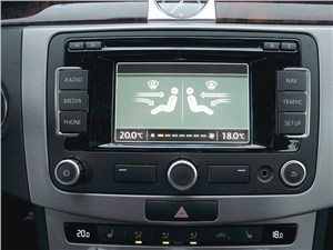 Volkswagen Passat CC 2013 центральная консоль