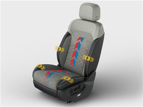 Volkswagen Touareg 2019 кресло