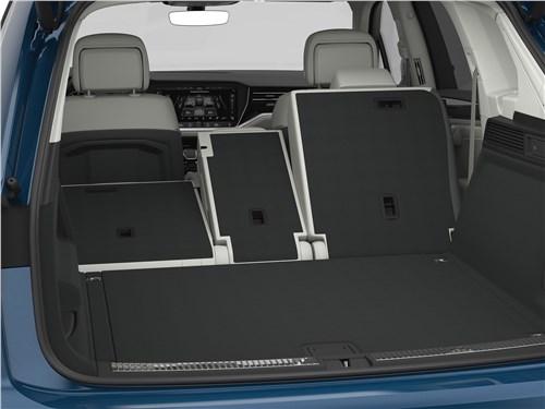 Предпросмотр volkswagen touareg 2019 багажное отделение