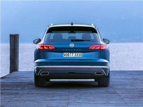Предпросмотр volkswagen touareg 2019 вид сзади