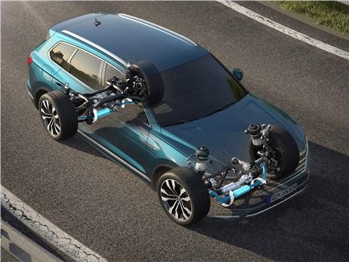 Volkswagen Touareg 2019 стабилизаторы поперечной устойчивости
