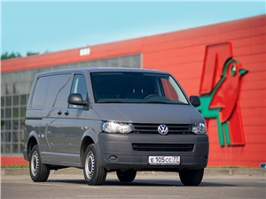 Volkswagen Transporter - volkswagen transporter t5 2009 вид спереди