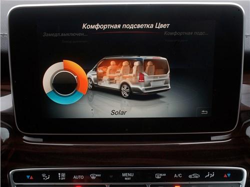 Mercedes-Benz V-Klasse 2014 монитор