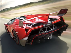Предпросмотр lamborghini veneno roadster 2014 вид сзади