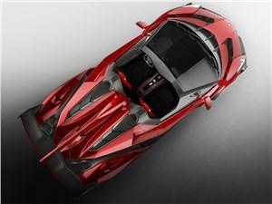 Предпросмотр lamborghini veneno roadster 2014 вид сверху