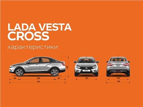 Предпросмотр lada vesta cross 2018
