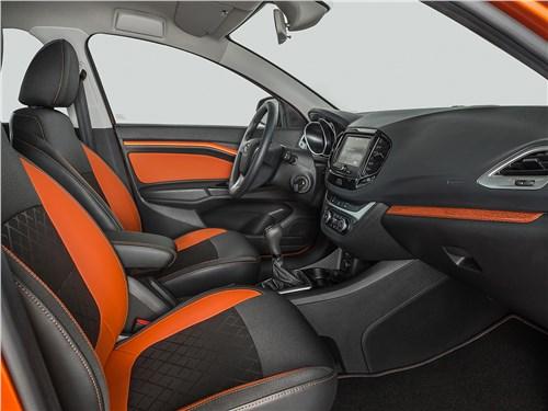 Предпросмотр lada vesta cross 2018 передние кресла