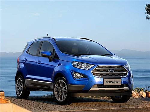 Ford привез в Россию обновленный EcoSport