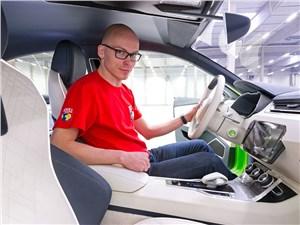Предпросмотр skoda vision c concept 2014 передние кресла фото 2