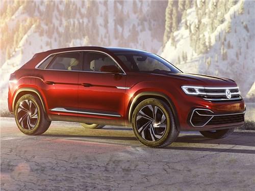 Volkswagen Teramont обзавелся пятиместной версией