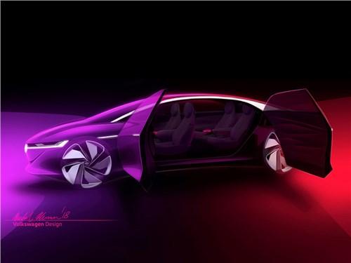 Volkswagen привезет в Женеву концепт нового электромобиля