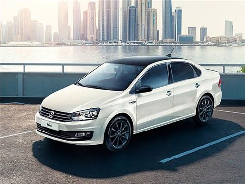 Седан Volkswagen Polo получил новую комплектацию
