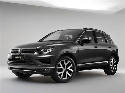 Volkswagen Touareg получил спецверсию в России