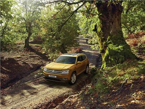 Volkswagen объявил дату приема заказов на Teramont в России