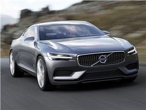 Предпросмотр volvo coupe концепт 2013 вид спереди