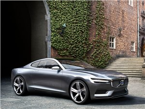 Предпросмотр volvo coupe концепт 2013 вид спереди 3/4