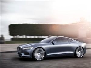 Предпросмотр volvo coupe концепт 2013 вид сбоку 3/4