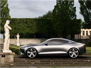 Предпросмотр volvo coupe концепт 2013 вид сбоку