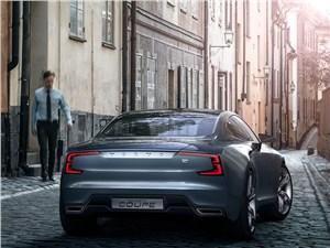 Предпросмотр volvo coupe концепт 2013 вид сзади