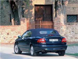 Предпросмотр volvo c70 2001 в кузове кабриолет вид слева сзади с закрытой крышей