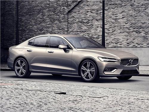 Volvo назвала российские цены на новый седан S60