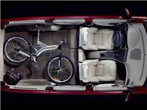Предпросмотр volvo v70 2001 рентген салона и багажника при сложенном заднем ряде сидений