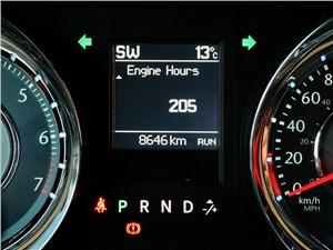 Chrysler Grand Voyager 2012 На дисплей бортового компьютера