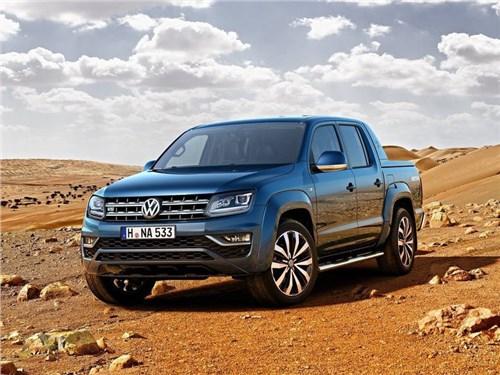 Рестайлинговый Volkswagen Amarok появится в России раньше срока