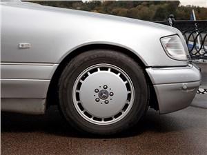 Предпросмотр mercedes-benz s-klasse 1997 переднее колесо