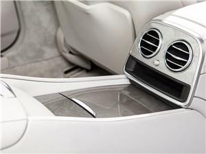Mercedes-Benz S 500 LONG 2013 задний тоннель